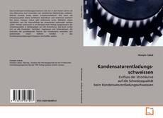 Kondensatorentladungsschweissen kitap kapağı