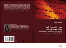 Couverture de Individualität der Notationstechnik