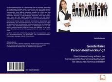 Buchcover von Genderfaire Personalentwicklung?