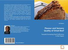 Copertina di Flavour and Sensory Quality of Dried Beef