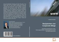 Buchcover von Rezipienten von Corporate Blogs