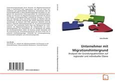 Borítókép a  Unternehmer mit Migrationshintergrund - hoz
