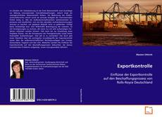 Bookcover of Exportkontrolle