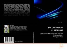 Bookcover of The Conundrum of Language