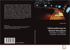 Buchcover von Videocodierung im Bereich Broadcast