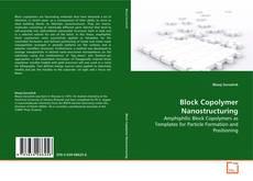 Couverture de Block Copolymer Nanostructuring