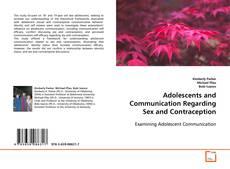 Обложка Adolescents and Communication Regarding Sex and Contraception