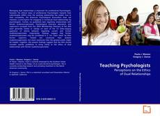 Bookcover of Teaching Psychologists
