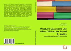 Обложка What Are Classrooms Like When Children Are Sorted By Ability