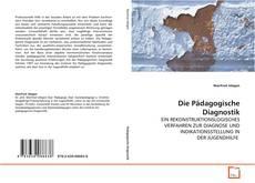 Capa do livro de Die Pädagogische Diagnostik