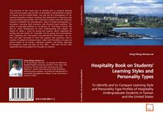 Capa do livro de Hospitality Book on Students' Learning Styles and Personality Types