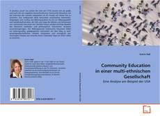 Capa do livro de Community Education in einer multi-ethnischen Gesellschaft