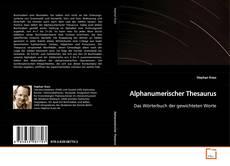 Buchcover von Alphanumerischer Thesaurus