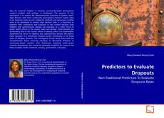 Capa do livro de Predictors to Evaluate Dropouts