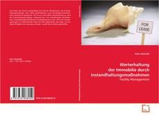 Bookcover of Werterhaltung der Immobilie durch Instandhaltungsmaßnahmen