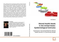 Couverture de Mental Health Needs in the United States: Epidemiological Estimates