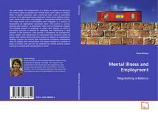 Buchcover von Mental Illness and Employment