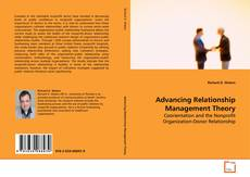 Bookcover of Advancing Relationship Management Theory