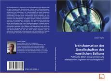 Portada del libro de Transformation der Gesellschaften des westlichen Balkans