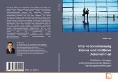Capa do livro de Internationalisierung kleiner und mittlerer Unternehmen
