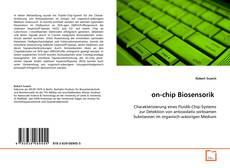 on-chip Biosensorik kitap kapağı