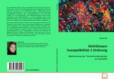 Bookcover of Nichtlineare Suszeptibilität 2.Ordnung