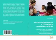 Couverture de Educator implementation of a professional development program