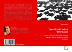 Portada del libro de Operational Product Performance