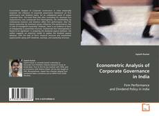 Borítókép a  Econometric Analysis of Corporate Governance in India - hoz