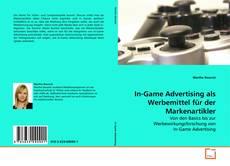Capa do livro de In-Game Advertising als Werbemittel für der Markenartikler