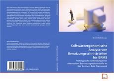 Couverture de Softwareergonomische Analyse von Benutzungsschnittstellen für BRMS