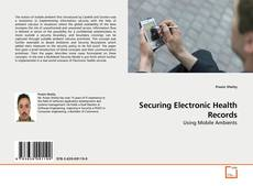 Buchcover von Securing Electronic Health Records
