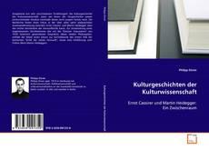Обложка Kulturgeschichten der Kulturwissenschaft