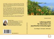 Buchcover von Lebensqualität für Menschen mit psychischen Erkrankungen