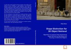 Capa do livro de Shape Distinction for 3D Object Retrieval
