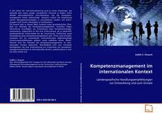 Couverture de Kompetenzmanagement im internationalen Kontext
