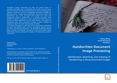 Capa do livro de Handwritten Document Image Processing