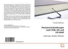 Buchcover von Pensionsrückstellungen nach HGB, IAS und US-GAAP