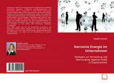Capa do livro de Korrosive Energie im Unternehmen