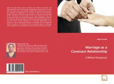 Buchcover von Marriage as a Covenant Relationship