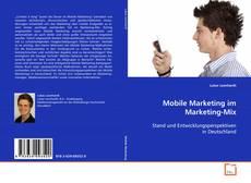 Capa do livro de Mobile Marketing im Marketing-Mix