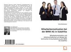 Bookcover of Mitarbeitermotivation bei der BMW AG in Südafrika