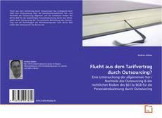 Capa do livro de Flucht aus dem Tarifvertrag durch Outsourcing?