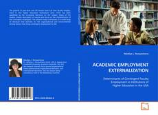 Couverture de ACADEMIC EMPLOYMENT EXTERNALIZATION
