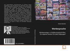 Bookcover of Werbesprache