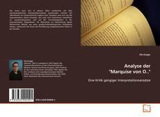 """Bookcover of Analyse der """"Marquise von O.."""""""