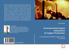 Bookcover of Environmental Impact Assessment of Copper Production