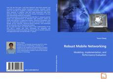 Bookcover of Robust Mobile Networking