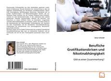 Capa do livro de Berufliche Gratifikationskrisen und Nikotinabhängigkeit