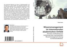Portada del libro de Wissensmanagement im internationalen akademischen Umfeld